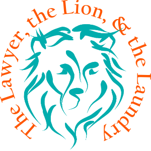 Lion Lawyer Laundry Logo